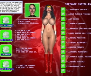 Hypnoman -new Project Gimp Lady - part 3