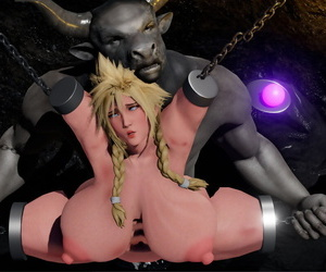 Hex Minotaurs Pet Final Fantasy VII