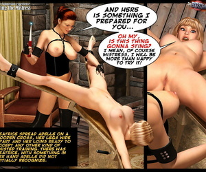 3D BDSM Dungeon Adelles Obedience experience: Meeting the Thistledown - fixing 2