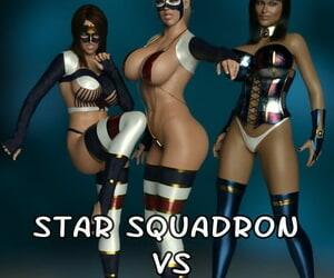 Ebony Heroines Starlet Squadron vs the Showmaster