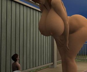 Giantess 3d - part 3