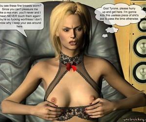 Seized Hard-on Sex Slave Uncley Sickey 3d Comic +Bonus Comics