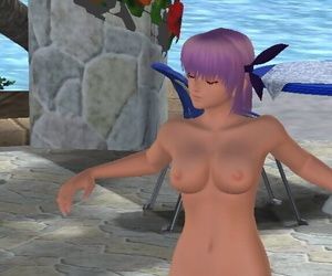 Dead or Alive Xtreme Careen Volleyball Nude Mod Screenshot - part 2