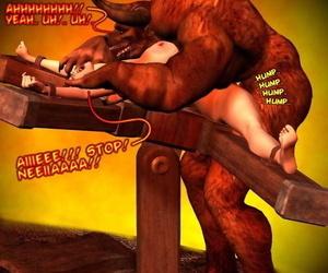 Food For the Gods : Fetter 2 Arbitrary 3d Red Demon Comic