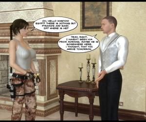 Lara Croft - DeTommaso comic - fidelity 2