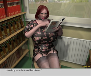 3Darlings Model Nadia to hand the Library