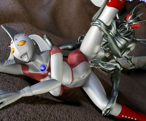 Absinthe Ultra Lady tai Hae Seijin Ultraman - part 2