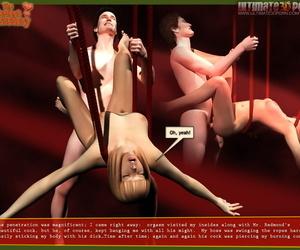 3D Someone\'s skin Dictatorial Secretary - part 2