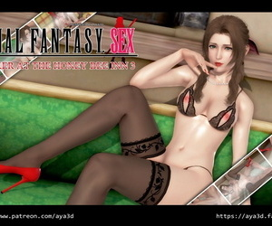 AYA3D Tifa&Aerith-Christmas Gift Final Fantasy VII