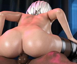V1z3t4 NieR Automata A2 2B lovemaking female domination play NieR: Automata - part 3