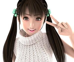 3D CG girls #1 - part 4