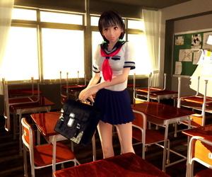 3D CG girls #1 - faithfulness 5