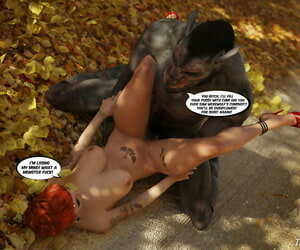The amazing sex adventures of buxomy Red Railing Spandex hood Animated - part 5