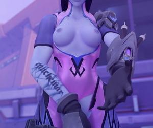Strapy Futa Widowmaker Overwatch