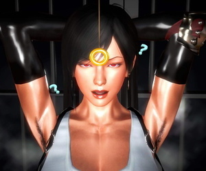 Tifa gets possessed increased by blushing