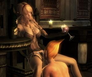 Oblivion Sexdarkness XLovers - part 5