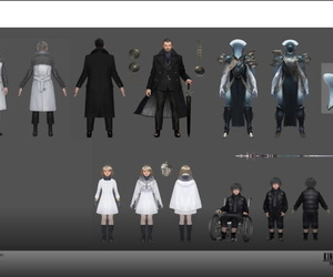 Concept Artworks from Kingsglaive