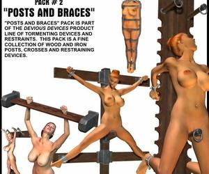 Davo 1 restrain bondage tools 3d Art - part 2