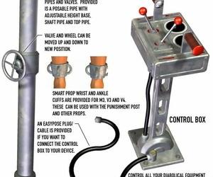 Davo 1 restrain bondage devices 3d Art