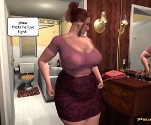 3Darlings Model Nadia gobble Donuts - part 3