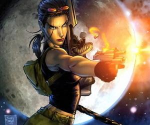 Lara Croft - Tomb raider Outmanipulate E - Hentai - fastening 4