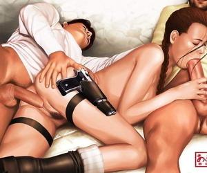 Lara Croft - Sepulchre raider Drained of E - Hentai