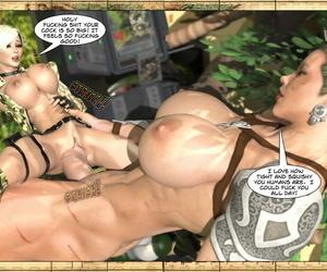 Trials of Mama Killa Joss3dart Comic and Raw - attaching 2