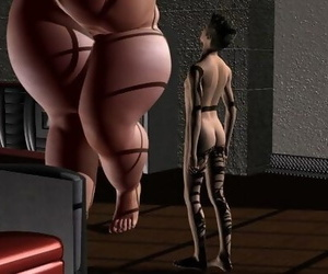 plumper giant and giantess woman