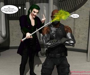MrBunnyArt Cain vs Catwoman - part 3