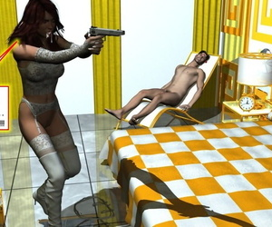 Gaby and be imparted to murder Burglars - fastening 3