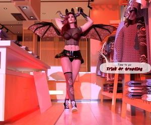 Tidy_Fox Headgear Villainy - A Halloween short hick fool around English