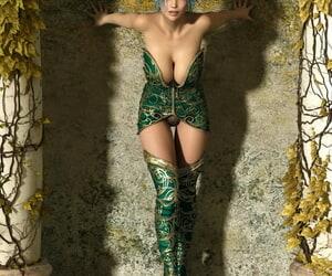 metalhed13 3DCG-Goddess Rina - part 2