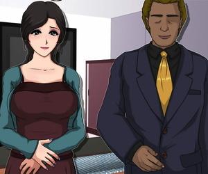 Circle Yuki Akutoku Salesman -Gangu bantam Toriko ni Ochita Hitozuma-