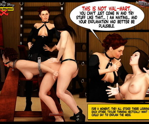 3D Domination & submission Dungeon space The Sex Shop Story: Dont Fucktoy With Fake penises
