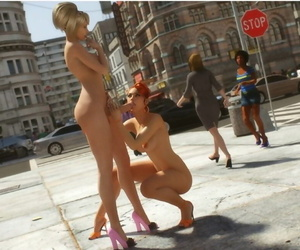 Lord Kvento Anastasia And Eve - Public Exxxposure