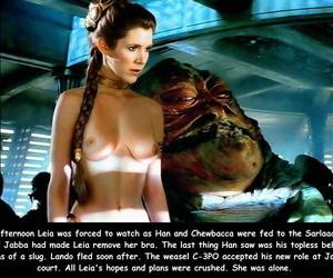 Hentai prinzessin leia Star Wars