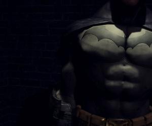 Brutal strikings of Batman by Switchblade Goddess