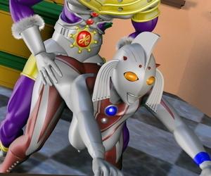 Absinthe Mari to Chief honcho no Jouji Ultraman - fastening 3
