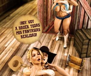 3DLatinAZZ Domando a Leonora Comic Spanish