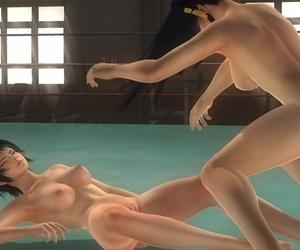 Fight meagre Nyotengu - Ayane VS Helena - Pai DOA Fixing 2