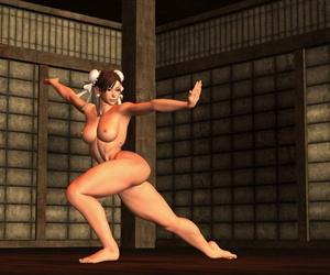 Nekomaru Shoukoukai Chun Li Omote + Ura Street Fighter
