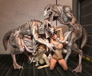 3d Porn Monsters - attaching 4