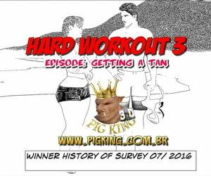 Pig King Stiff Workout 3 - Getting a Tan ENG - part 2