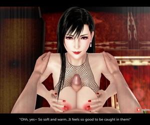 AYA3D TIFA: HOOKER AT Burnish apply HONEY BEE Forth Final Fantasy VII