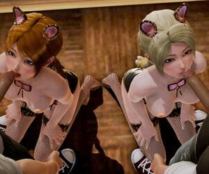 Elsa and Anna Cat Girls Stunner Select