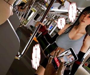 Tifa on Subway - part 2
