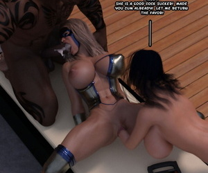 Captured Heroines Lady Sting - part 4
