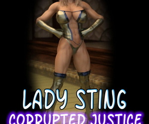 Ebony Heroines Girl Sting
