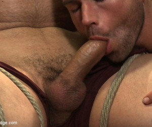 Muscled straight smile radiantly gets edged wide of four dudes for the waggish lifetime - part 653