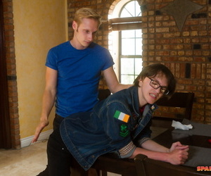 Gay twink max carter together with dustin tea set taquito sneak-thief - affixing 754